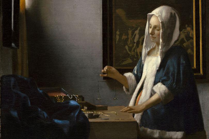 Vermeer La Femme à la Balance