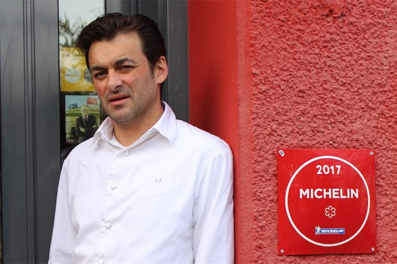 Chef Jerome Brochot étoile Michelin