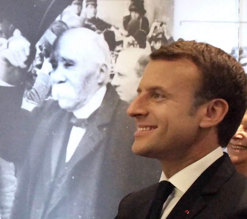 Georges Clemenceau Président Emmanuel Macron