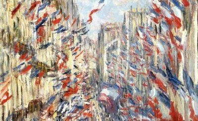 Jean Monet Bleu Blanc Rouge Rue Montorgueil