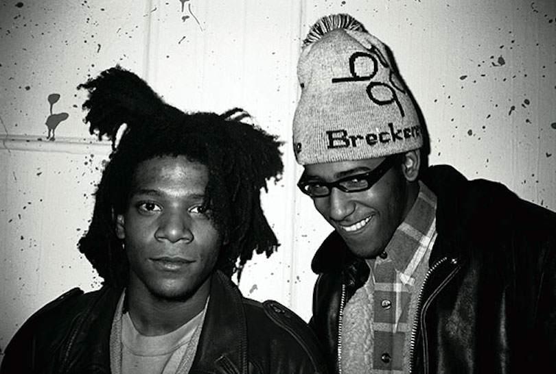 Jean-Michel Basquiat et Torrick Ablack