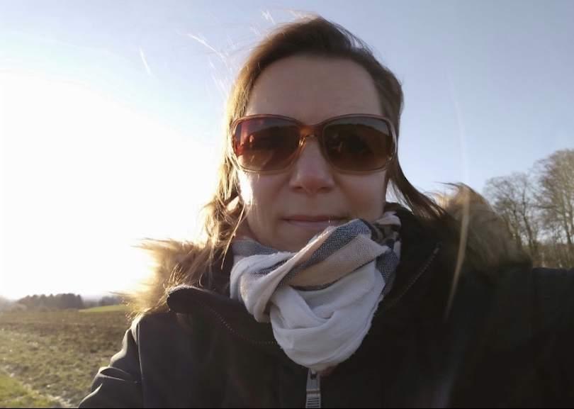 Sonja Karallus in Germany, Kiln during pandemic