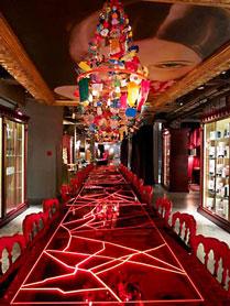 Restaurant de Madame LAN, Pekin, 2008.