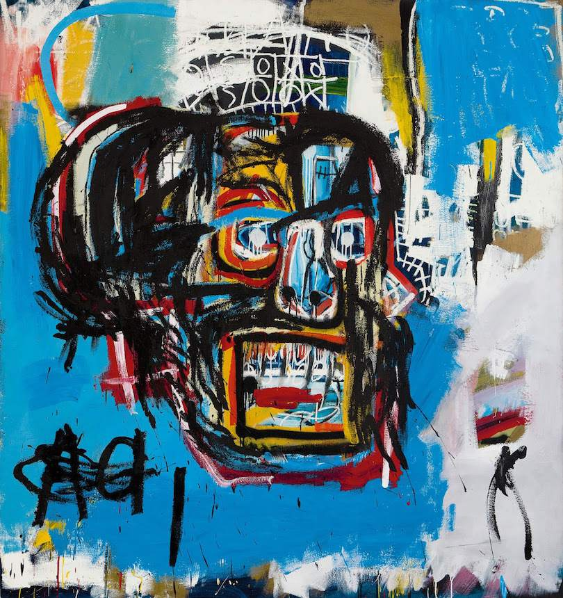 """""""Untitled"""", Jean-Michel Basquiat, vendue le 18/05/2017 chez Sotheby's à 110,5 millions de dollars"""