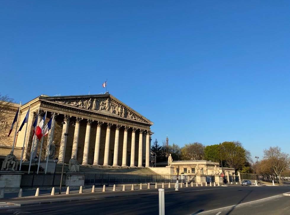Empty places, Paris désertée, pendant le confinement qui a débuté en mars 2020